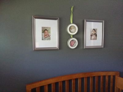 Above the Crib Display
