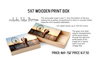5x7WoodPrint Box