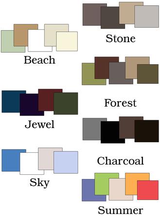 color palette ideas for family photos