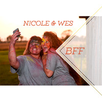 Wes and Nicole BFF
